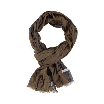 """Schal """"Paisley"""", 100% Cotton, 50x180cm, schlamm, 29,95€"""