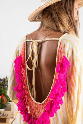 Dress Indiana, portofino yellow, 60% Baumwolle 30% Viskose 10% Lurex, in Gr XS/S und M/L,  139€