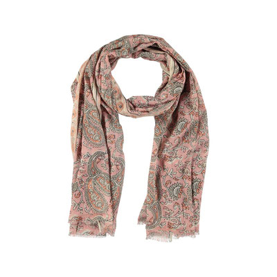"Schal ""Pink Paisley"", soft pink, 100% Cotton, 24,95€"