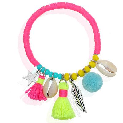 """Armband """"La Gomera"""" pink 19€"""