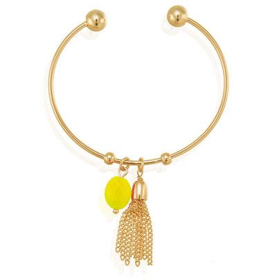 """Armreifen """"Tasseltime"""" gold yellow 19€"""