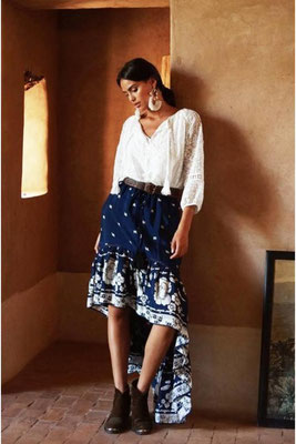 Skirt Camelia, one size, 100% Viskose, navy blue, 124€