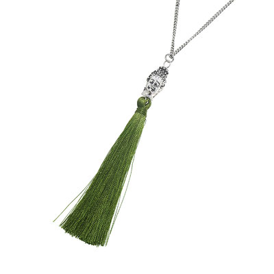 "Kette "" Simple Bhudda"" green 15€"