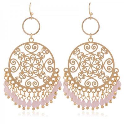 """Ohrringe """"Indian Dreams"""" soft pink 25€"""