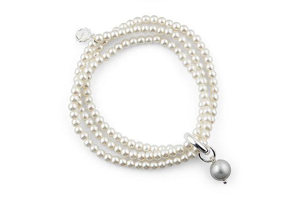 """Armband """"Pearl"""" white € 24"""