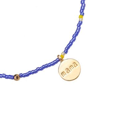 """Armband """"Lovely Mama"""" blue 12€"""