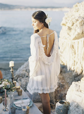 Dress Bobby white/silver 149€