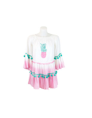 "Dress/Tunika ""Pinapple"", in Gr s/m oder m/l, 100% Cotton, 89,90€ on SALE -30%"
