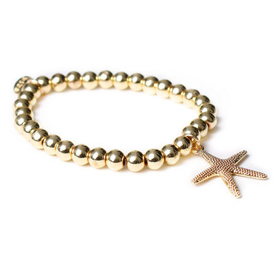 "Armband ""Seastar"" gold, 19€"