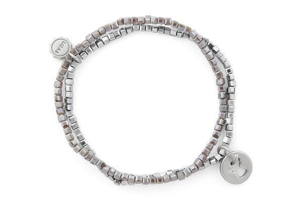 """Armband """"My Angel"""" grey/silver 18€"""