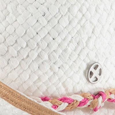 """Hut """" Beachmood"""", white, 100% Paper, mit Hutband größenverstellbar,   29,95€"""