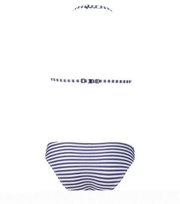 """Shiwi Bikini """"Stripes"""" white/blue div Gr €  24,99"""