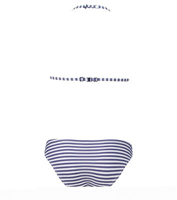 """Shiwi Bikini """"Stripes"""" white/blue in Gr 104   € 24,99"""