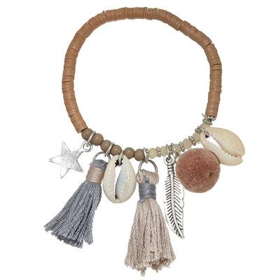 "Armband ""La Gomera"" brown 19€"