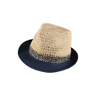 """Hut """" Ibizagirl"""", navyblue,  100% Paper, mit Hutband größenverstellbar,   34,95€"""
