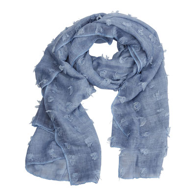 Schal Judy, blue, 180x90cm, 29,90€