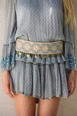 """Belt """"Lovley"""" vintage blue 109,90€"""