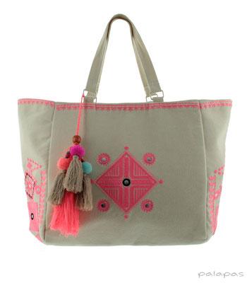 "Strandbag ""Tulum"", pink, 54,95€"