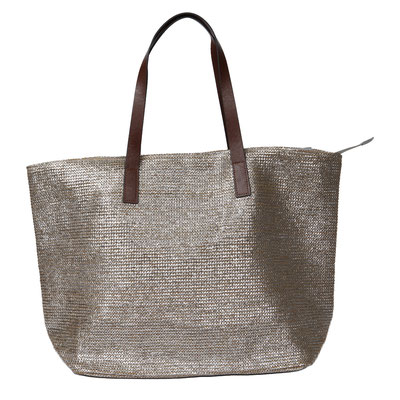 Bag Key West, brown/silber, 49,90€