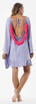 Dress Indiana blau-lila/neon coral 139€