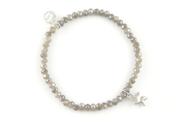 "Armband ""grey Star"", 12€"