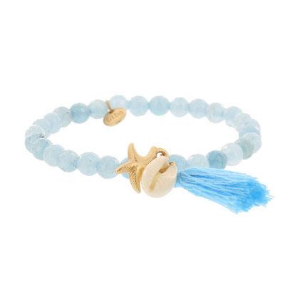 """Armband """" Meeresrauschen"""" türkis 14€"""