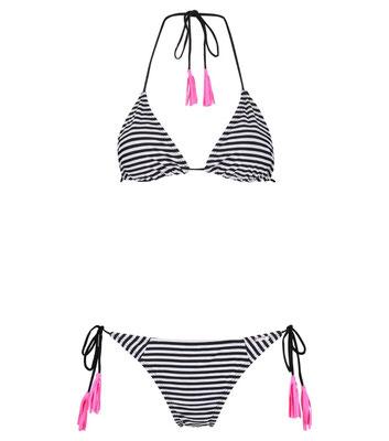 """Shiwi Bikini """"Black Stripe Neon"""" Gr 34/36(sold out)/38/40/42  € 29,99"""