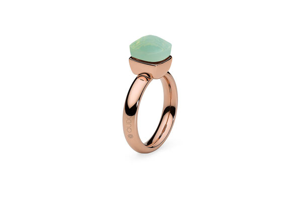 Ring rosegold, Gr 52-58,  pacifique green opal , 49,90€, ab 2 Stück mixed colours 44,90€