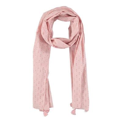 """Schal """"Summerbreeze"""", soft pink, 80% Cotton, 20% Metallic, 50x180cm,   16,95€"""