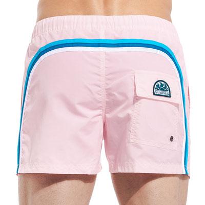 """Sundek Short """"Quartz Pink"""", Länge 13'', in Gr S/M/L  95€, erhältlich auch in """"Tender Green"""" in Gr  S/L 95€"""