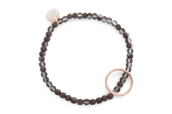 "Armband "" Circle"" schlamm/gold  18€"