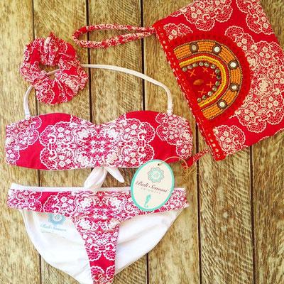 Bali Sensasi Bandeau Bikini rot Gr M/L 79€