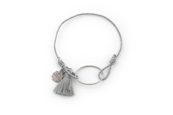"""Armband """" Silver Circle"""", 12€"""