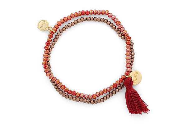 """Armband """"Red Love"""" 16€"""