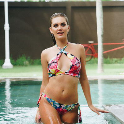 """Niconico Bikini """"Flowerbomb"""" in Gr S/M/L(sold out)/XL 79€"""