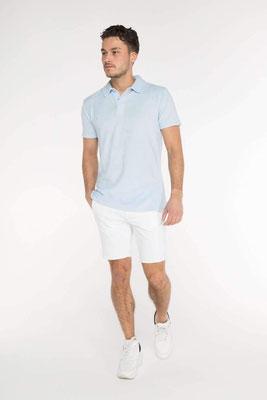 Terry Towel Poloshirt, light blue, Gr S/M/L/XL  100% Cotton,  79,90€