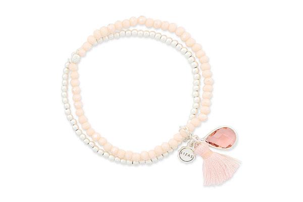 """Armband """"Peach Blossom"""" 16€"""