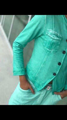Sweatjacke Mint, Gr S/M und L/XL(sold out), 79,90€