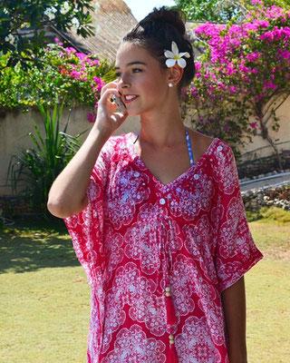 Dress Ethnique Square Print Pink/Red  79€ erhältlich nur mehr in XS