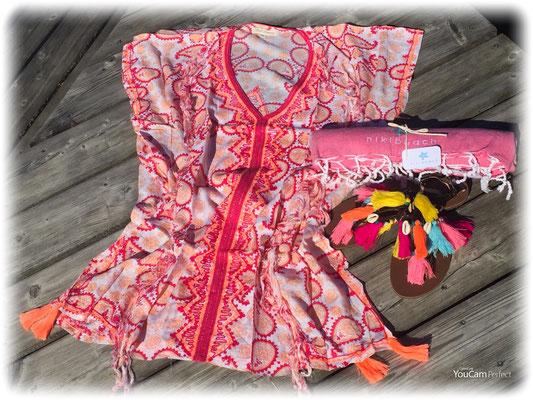 Dress Ethnique  Print pink 85€