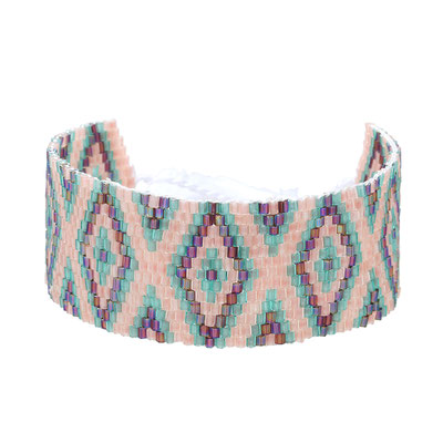 "Armband ""Beadslove"" soft pink 15€"