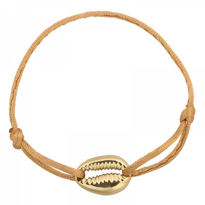 "Armband ""Seashell"" gold beige 12€ on SALE 9€"