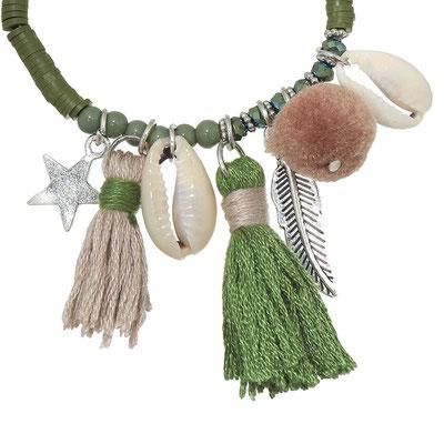 "Armband ""La Gomera"" green 19€"