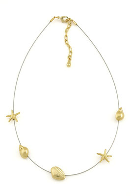 "Kette ""Under the sea"", gold/silber, 32€"