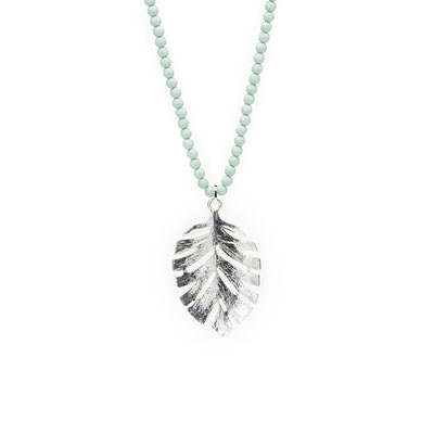 "Kette "" Jungle Queen"" mint/silver 28€"