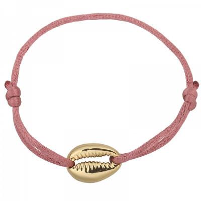 "Armband ""Seashell"" gold soft pink 12€ on SALE 9€"