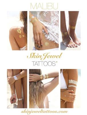 Skin Jewels Tatoos Set Malibu 29€