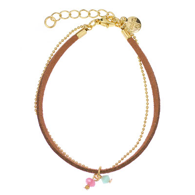 """Armband """" Beach Charms"""" in silber od rosegold 14€"""