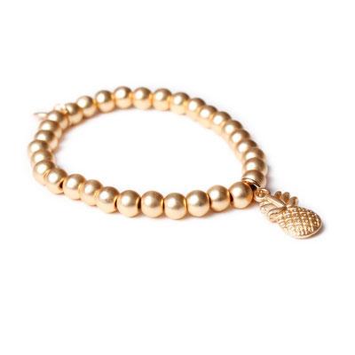 "Armband ""Pina"" gold mattiert, 19€"