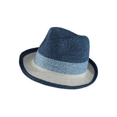 "Hut ""Steppensee"", blau, 100% Polyester, Gr 59cm, 29,95€"